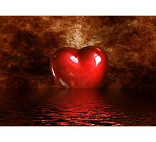 My Heart Photographic Print