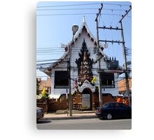 Wat Chet Lin 6 Canvas Print