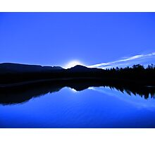 Blue Mirror Lake Photographic Print