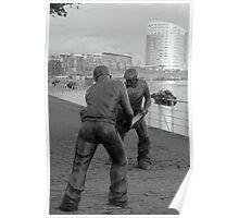 men at work  Poster
