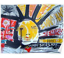 she is my sunshine Poster