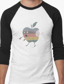 iEatBrains Men's Baseball ¾ T-Shirt