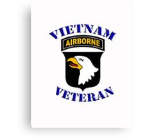 101st Airborne Vietnam Veteran -  iPad Case Canvas Print