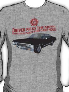 Driver picks the music! T-Shirt