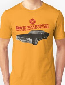Driver picks the music! T-Shirt