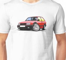 VW Polo (Mk3) G40 Red Unisex T-Shirt