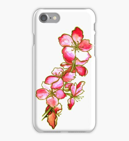 Red Blossoms iPhone Case/Skin