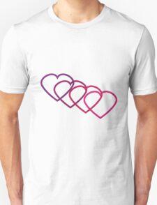 Interlocking Hearts T-Shirt
