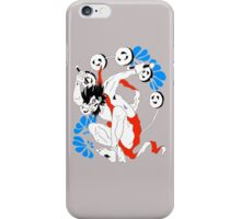 Raiden thunder god iPhone Case/Skin