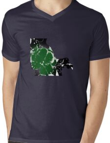 T-shirt clover Mens V-Neck T-Shirt