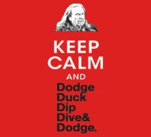 Keep calm and dodgeball by SpiderDann