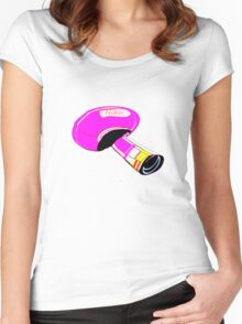 T-shirt mushroom Women's Fitted Scoop T-Shirt