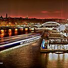 River Seine Reflections- Paris by peter donnan