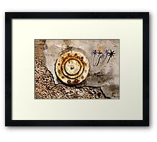 THE WALL FLOWER Framed Print