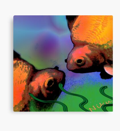 Nature. Fish Canvas Print