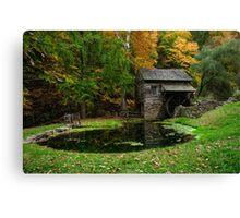 Autumn At Cuttalossa Farm I Canvas Print