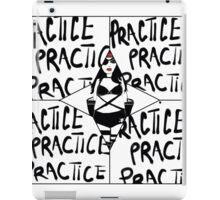 PRACTICE AGAIN iPad Case/Skin