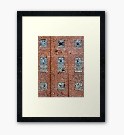 Sugar Mill Broken Windows Framed Print