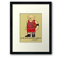 Michael Jordan x Ralph Lauren Polo Bear Framed Print