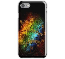 Beyond infinity-Time machine iPhone Case/Skin