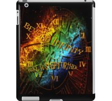 Beyond infinity-Time machine iPad Case/Skin
