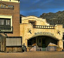 Rosa's Cantina At Old Tucson by Carolyn  Fletcher