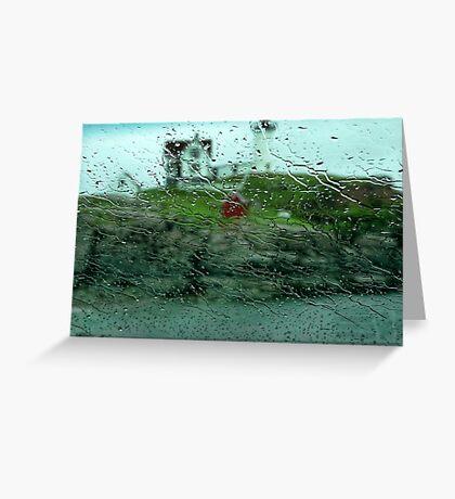 The Rain In Maine Greeting Card
