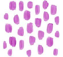 Handpainted Brush Texture Photographic Print