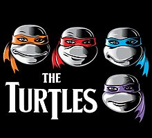 The Turtles by Grafx-Guy