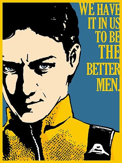 X-Men First Class: Charles Xavier by rellicgin