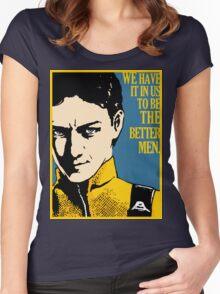 X-Men First Class: Charles Xavier Women's Fitted Scoop T-Shirt