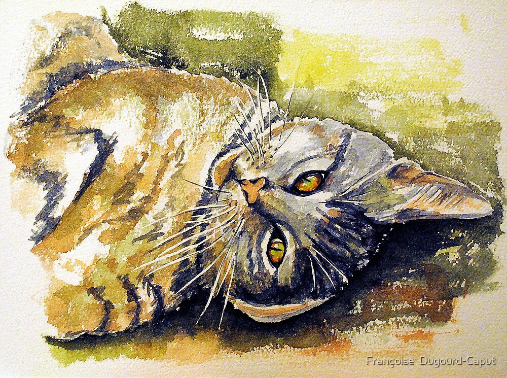 Pikatxu, featured in Art Universe, Cat's Pajamas, Cats and Dogs, Shamelesss Self-Promotion by Françoise  Dugourd-Caput
