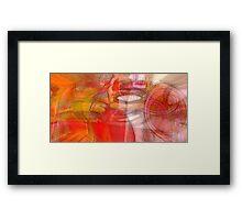Waves of Desire Framed Print