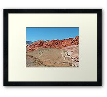 RED ROCK CANYON STATE PARK, NV Framed Print
