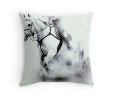 White water ride Throw Pillow