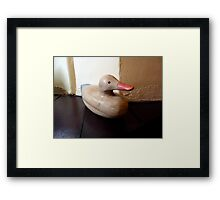 Could you put it on my Bill ? Framed Print