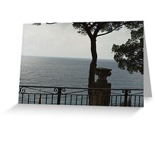 UNO SCORCIO.......il mare della Liguria- italia - Europa -  VETRINA RB EXPLORE 1 FEBBRAIO 2013 - Greeting Card