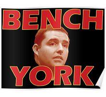Bench York Poster