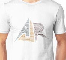 AJR typography - Default Colours Unisex T-Shirt