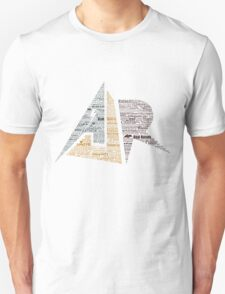 AJR typography - Default Colours T-Shirt