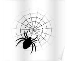 Cartoon Spider Poster