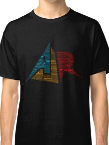 AJR typography - Solid Default Colours Classic T-Shirt