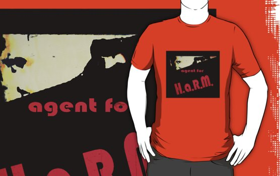 Agent for H.A.R.M. tee by Margaret Bryant