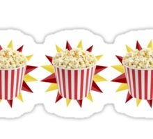 5 Bags of Popcorn Sticker