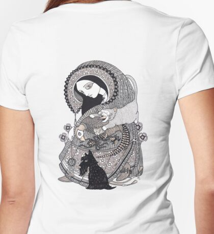 The Crone Tee Womens Fitted T-Shirt