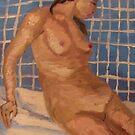 Drawing The Bath by Ashley Huston