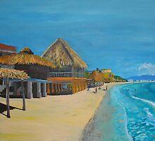 Beach Afternoon by Anita Wann