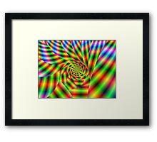 Psychedelic Spiral Framed Print