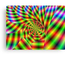 Psychedelic Spiral Canvas Print