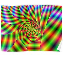 Psychedelic Spiral Poster